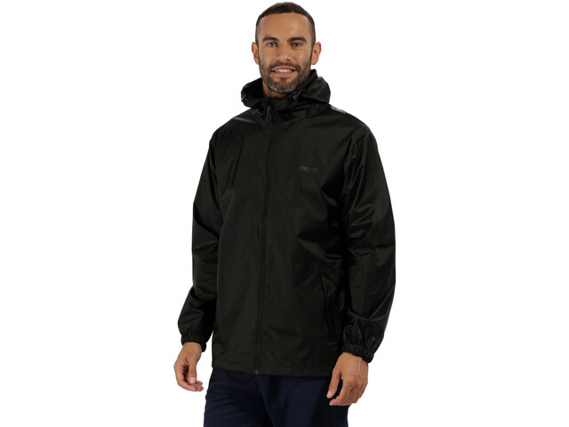 Regatta Pack It III Chaqueta Hombre, black